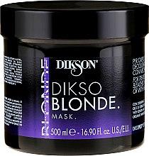 Parfémy, Parfumerie, kosmetika Maska na ošetřené, odbarvené a melírované vlasy - Dikson Dikso Blonde Mask