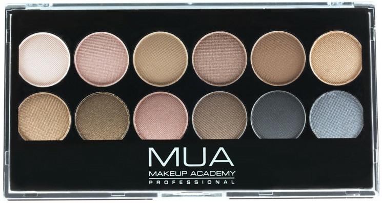 Paleta očních stínů - MUA Undressed Eyeshadow Palette