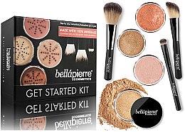 Parfémy, Parfumerie, kosmetika Základní make-up sada - Bellapierre Get Started Kit Dark