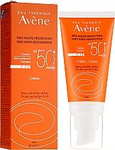 Parfémy, Parfumerie, kosmetika Opalovací krém na obličej - Avene Eau Thermale Sun Cream SPF50