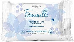 Parfémy, Parfumerie, kosmetika Osvěžující ubrousky pro intimní hygienu - Oriflame Feminelle Refreshing Intimate Wipes