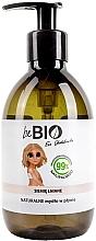 """Parfémy, Parfumerie, kosmetika Tekuté mýdlo """"Lněná semínka"""" - BeBio Natural Liquid Soap Flax Seeds"""