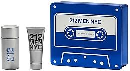 Parfémy, Parfumerie, kosmetika Carolina Herrera 212 Men NYC - Sada (edt/100ml + sh/gel100ml)