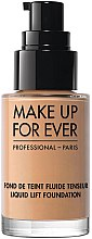 Parfémy, Parfumerie, kosmetika Tónový základ - Make Up For Ever Liquid Lift Foundation