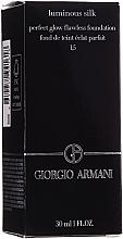 Parfémy, Parfumerie, kosmetika Tonální krém - Giorgio Armani Luminous Silk Foundation