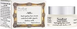 Parfémy, Parfumerie, kosmetika Antivěkový krém na obličej - Sostar Anti-ageing Face Cream Enriched With Donkey Milk