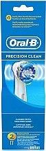 Parfémy, Parfumerie, kosmetika Náhradní hlavice k elektrickému zubnímu kartáčku, 2 ks - Oral-B Precision Clean