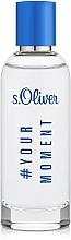 Parfémy, Parfumerie, kosmetika S.Oliver #Your Moment - Toaletní voda