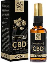 Parfémy, Parfumerie, kosmetika Přírodní makadamový olej CBD 500mg - Dr. T&J Bio Oil