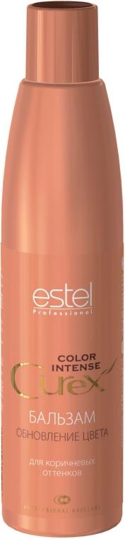 Balzám pro hnědé odstíny vlasů - Estel Professional Curex Color Intense — foto N1