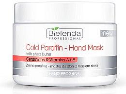 Parfémy, Parfumerie, kosmetika Studená parafínová maska na ruce s bambuckým máslem Bielenda - Bielenda Professional Cold Paraffin Hand Mask With Shea Butter (400 g)