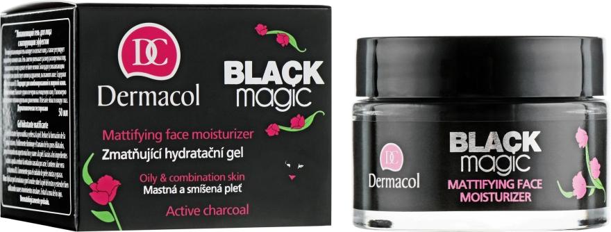 Matující hydratační gel na obličej - Dermacol Black Magic Facial Gel