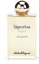 Parfémy, Parfumerie, kosmetika Salvatore Ferragamo Signorina Eleganza - Sprchový gel