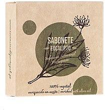 """Parfémy, Parfumerie, kosmetika Přírodní mýdlo """"Eukalyptus"""" - Essencias De Portugal Senses Eucalyptus Soap With Olive Oil"""