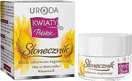 Parfémy, Parfumerie, kosmetika Výživný krém na obličej - Uroda Kwiaty Polskie Stonecznik Cream