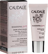 Parfémy, Parfumerie, kosmetika Liftingový krém pro kontury očí - Caudalie Resveratrol Lift Eye Lifting Balm
