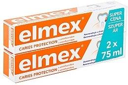 Parfémy, Parfumerie, kosmetika Sada - Elmex Toothpaste Caries Protection (toothpaste/2x75ml)