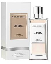 Parfémy, Parfumerie, kosmetika Angel Schlesser Les Eaux d'un Instant Vibrant Sandalwood - Toaletní voda