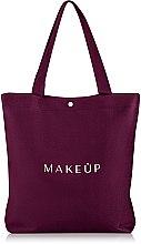 """Parfémy, Parfumerie, kosmetika Nákupní taška marsala """"Easy Go"""" - MakeUp"""