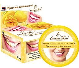 Parfémy, Parfumerie, kosmetika Zubní pasta s mangem - Sabai Thai Herbal Mango Toothpaste