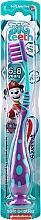 Parfémy, Parfumerie, kosmetika Dětský zubní kartáč, 6-8l, fialový - Aquafresh Soft Big Teeth