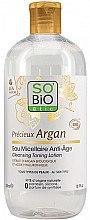 Parfémy, Parfumerie, kosmetika Micelární voda - So'Bio Etic Argan Cleansing Toning Lotion