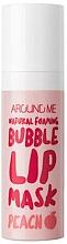 Parfémy, Parfumerie, kosmetika Bublinková maska na rty - Welcos Natural Foaming Bubble Lip Mask Peach