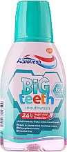Parfémy, Parfumerie, kosmetika Ustní voda - Aquafresh Big Teeth Mouthwash