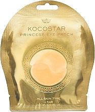 Parfémy, Parfumerie, kosmetika Hydrogelové náplasti pod oči, zlaté - Kocostar Princess Eye Patch Gold