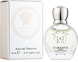 Parfémy, Parfumerie, kosmetika Versace Eros Pour Femme - Toaletní voda (mini)