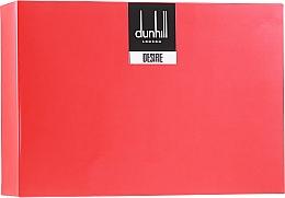 Parfémy, Parfumerie, kosmetika Alfred Dunhill Desire Red - Sada (edt/100ml + edt/30ml + deo/195 ml)
