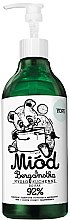 "Parfémy, Parfumerie, kosmetika Tekuté kuchyňské mýdlo ""Med a bergamot"" - Yope Honey & Bergamot Hand Soap"