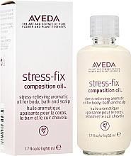 Parfémy, Parfumerie, kosmetika Zklidňující aroma olej - Aveda Stress Fix Composition Oil