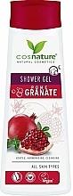 Parfémy, Parfumerie, kosmetika Pečující sprchový gel - Cosnature Shower Gel Pomegranate