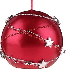 Parfémy, Parfumerie, kosmetika Dekorativní svíčka červená, 8 cm - Artman Christmas Garland