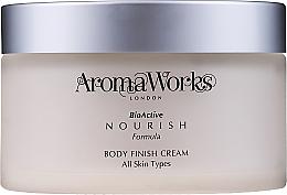 Parfémy, Parfumerie, kosmetika Tělový krém - AromaWorks Body Finish Cream