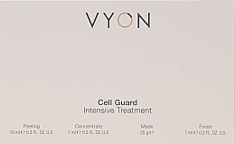 Parfémy, Parfumerie, kosmetika Sada - Vyon Gell Guard Intensive Treatment (peel/10ml + conc/7ml + mask/25g + finish/7ml)