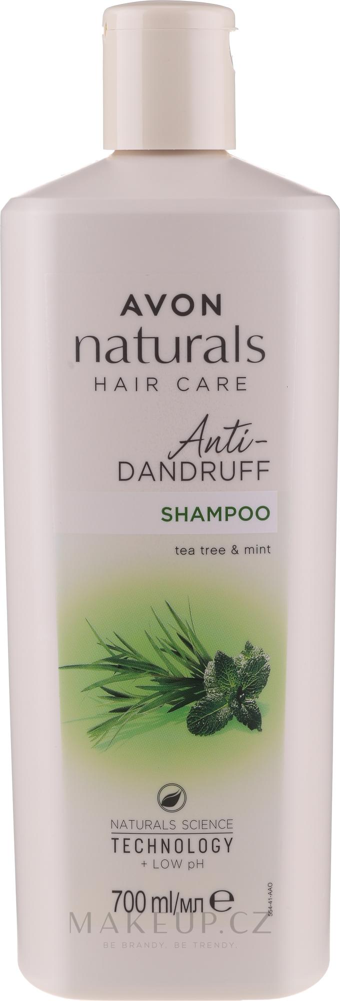 Šampon proti lupům Máta a čajovník - Avon Naturals Herbal Hair Care Shampoo — foto 700 ml