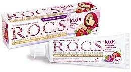 Parfémy, Parfumerie, kosmetika Zubní pasta Jahodová fantazie - R.O.C.S. Kids Raspberry and Strawberry