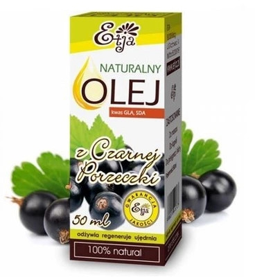 Přírodní olej ze semen rybízu - Etja Natural Oil