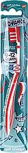Parfémy, Parfumerie, kosmetika Dětský zubní kartáček, 9–12 let, červeno-bílý - Aquafresh Advance Soft