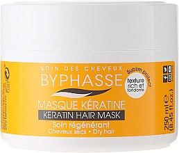 Parfémy, Parfumerie, kosmetika Maska pro suché a matné vlasy - Byphasse Keratin Hair Mask