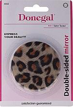 Parfémy, Parfumerie, kosmetika Kompaktní zrcátko 4502, oboustranné, pantera - Donegal Mirror