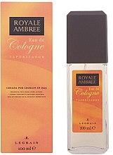 Parfémy, Parfumerie, kosmetika Legrain Royale Ambree - Kolínská voda ve spreji