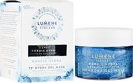 Parfémy, Parfumerie, kosmetika Hydratační a obnovující pleťová maska s kyslíkem - Lumene Nordic Hydra 72H Gel Mask