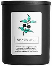 Parfémy, Parfumerie, kosmetika Sójová svíčka Naboso po mechu - Hagi