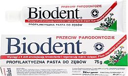 Parfémy, Parfumerie, kosmetika Zubní pasta proti parodontitidě - Biodent