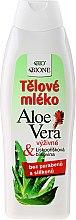 Parfémy, Parfumerie, kosmetika Hydratační tělové mléko - Bione Cosmetics Aloe Vera Nourishing Body Lotion With Collagen