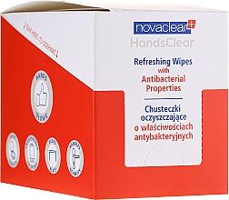 Parfémy, Parfumerie, kosmetika Čisticí ubrousky s antibakteriálními vlastnostmi - Novaclear Hands Clear Refreshing Wipe With Antibacterial Properties