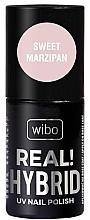 Parfémy, Parfumerie, kosmetika Hybridníl lak na nehty - Wibo Hybrid Real Hybrid UV Nail Polish